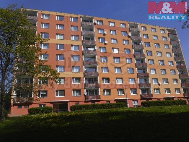 Pronájem, byt 1+kk, 21 m2, Ústí nad Labem, ul. SNP