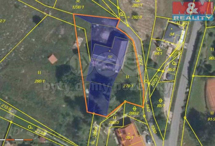 Prodej, stavební pozemek, 1500 m2, Liberec, Krásná Studánka