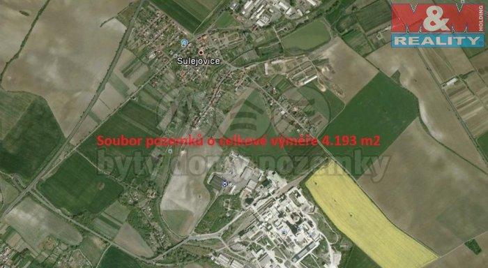 Prodej, pole, 4193 m2, Sulejovice