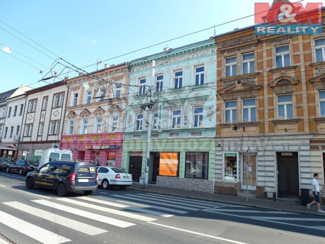 Prodej, 2 nájemní domy, Teplice, ul. Masarykova