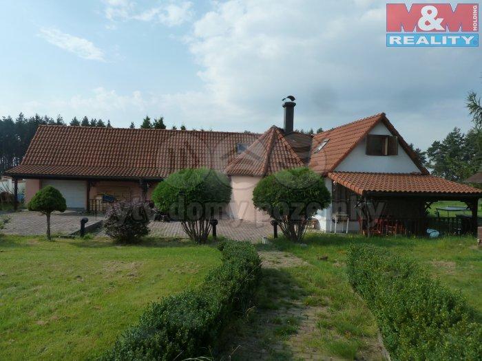 Pronájem, rodinný dům, 432 m2, Kamenice - Dobšín