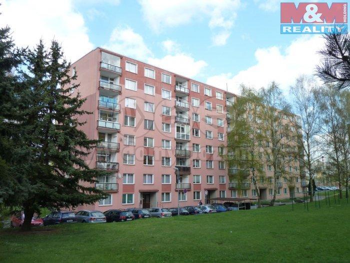 Pronájem, byt 2+1, 58 m2, Cheb, ul. Palackého
