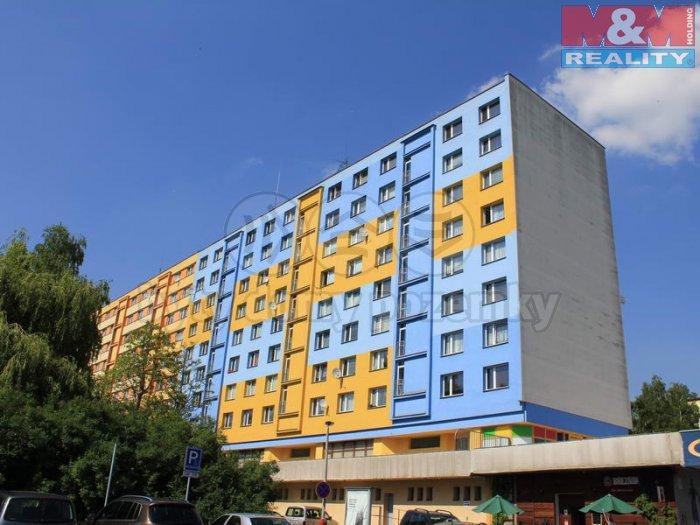 Pronájem, byt 1+kk, 20 m2, Ústí nad Labem, ul. Pod Parkem