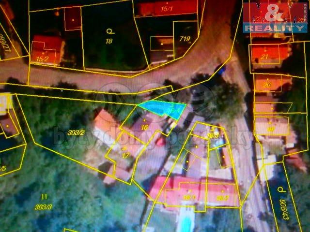 Prodej, stavební parcela, 42 m2, Levousy