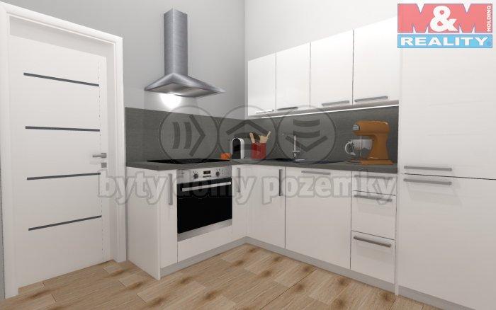 Prodej, byt 2+1, 49 m2, Stupkova - Holešovice, Praha 7
