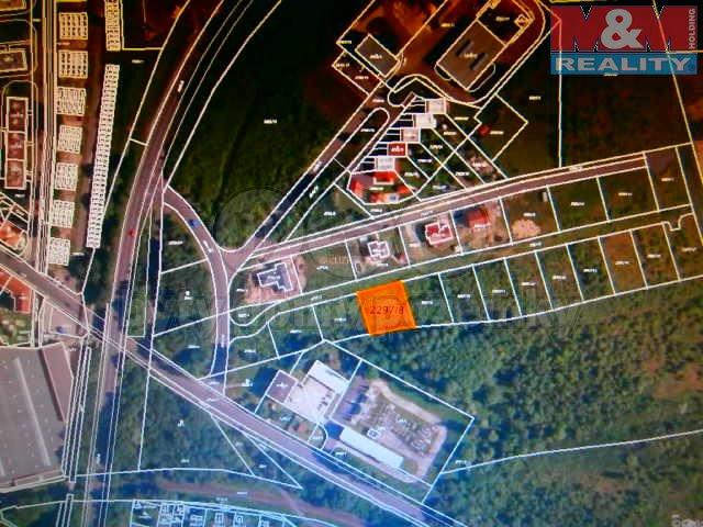 Prodej, stavební parcela, 800 m2, Horní Litvínov
