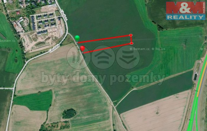 Prodej, pozemek, 39 600 m2, Praha 4 - Písnice