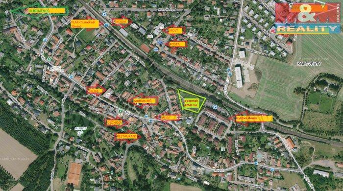 Prodej, stavební pozemek, 4249 m2, Praha 10 - Kolovraty