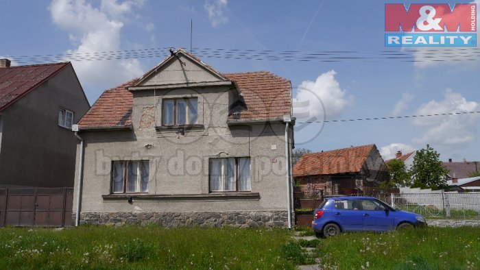 Prodej, rodinný dům, Žleby