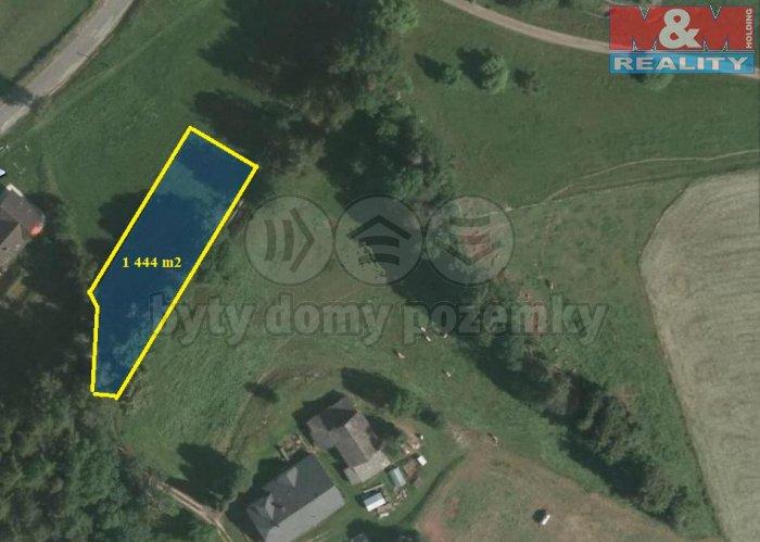 Prodej, stavební pozemek, 1 444 m2, Roztoky u Jilemnice