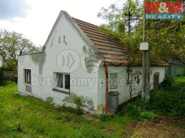 Prodej, rodinný dům 2+1, 53 m2, Vehlovice