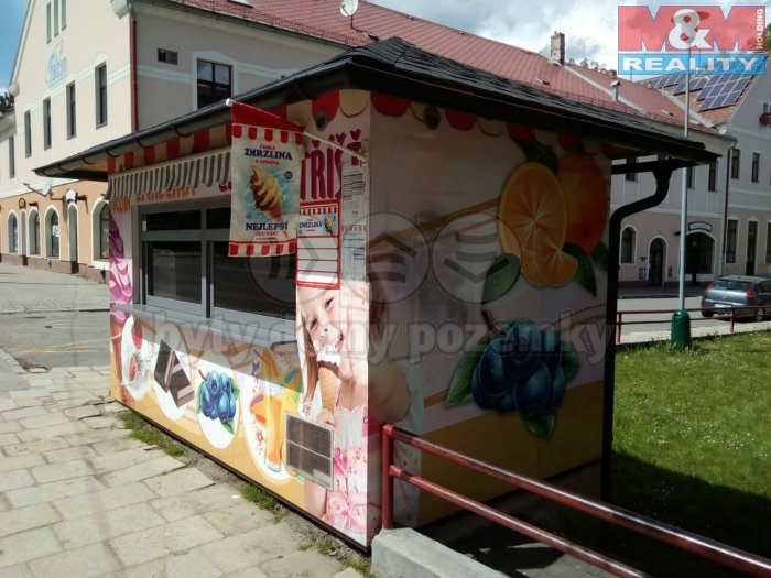 Prodej, prodejní stánek, Jihlava, ul. Žižkova