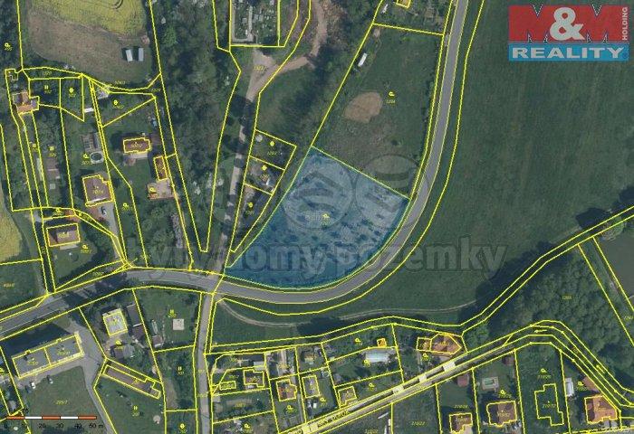 Prodej, stavební pozemek, 4522 m2, Malesice, ul. Chotíkovská