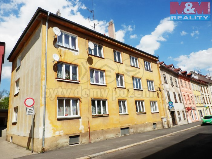 Pronájem, byt 2+1, 64 m2, Cheb, ul. Smetanova