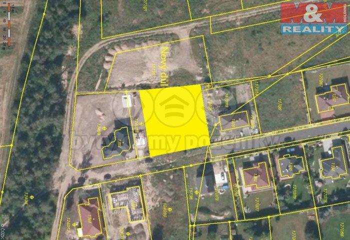 Prodej, pozemek, 1300 m2, Lom u Mostu, ul. Březová