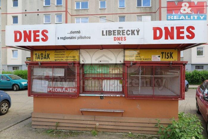 Pronájem, prodejní stánek, Liberec, ul. Dobiášova