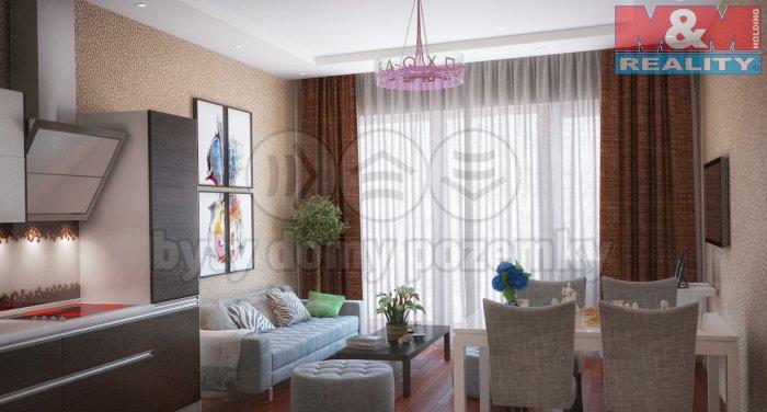 Prodej, byt 2+kk , 62 m2 Praha 8 - Karlín