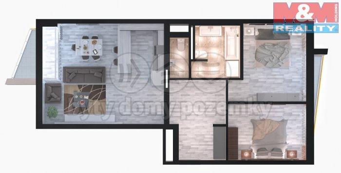 Prodej, byt 3+kk, 90m2, Praha 8 - Libeň