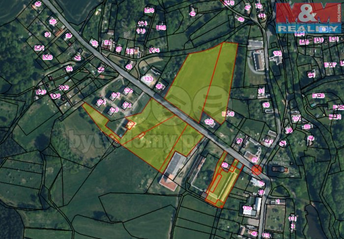 Prodej, zemědělský objekt,37884 m2, Nové Mitrovice