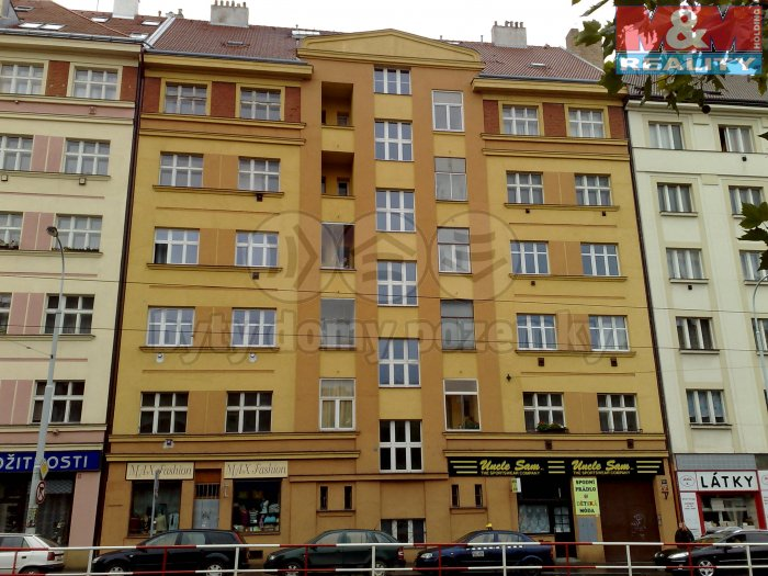 Pronájem, nebytový prostor, 43 m2, OV, Praha 3 - Žižkov