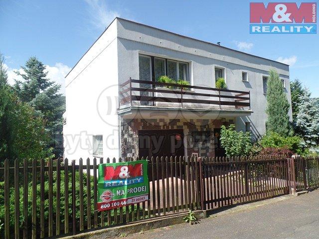Prodej, rodinný dům 6+2, 1420 m2, Ústí nad Labem - Brná