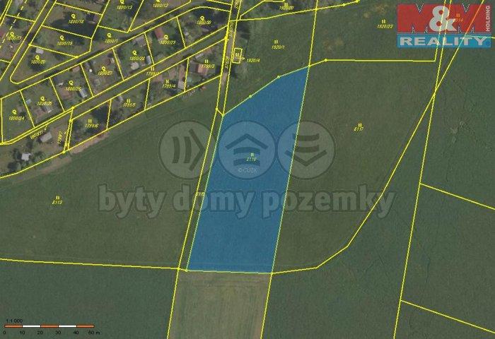 Prodej, pozemek, 4670 m2, Lanškroun