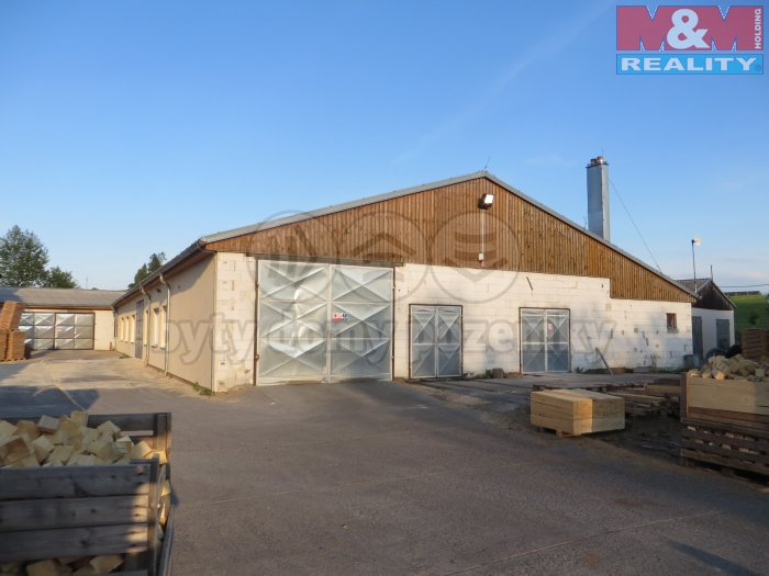 Prodej, výrobní areál - pila, 6357 m2, Bolešiny