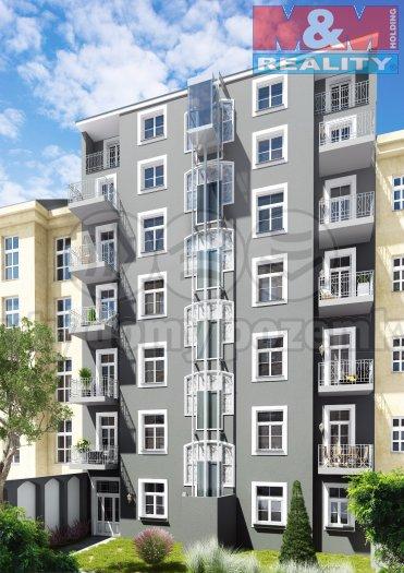 Prodej, byt 1+kk, 41 m2, Praha 7 - Bubeneč, ul. Korunovační