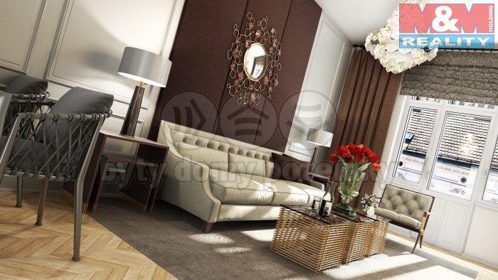 Prodej, byt 1+kk, 36 m2, Praha 7 - Bubeneč, ul. Korunovační