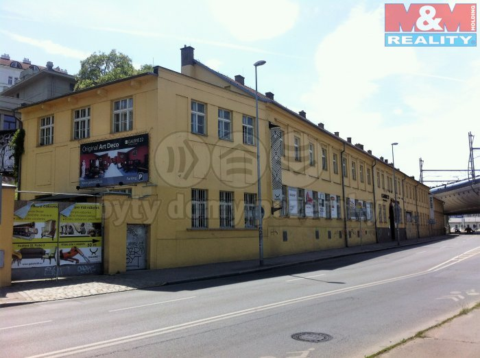 Pronájem, kancelářské prostory, 235 m2, Praha 3 - Žižkov