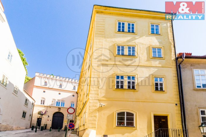 Pronájem, kancelářské prostory, 89 m2, Praha 1 - Malá Strana
