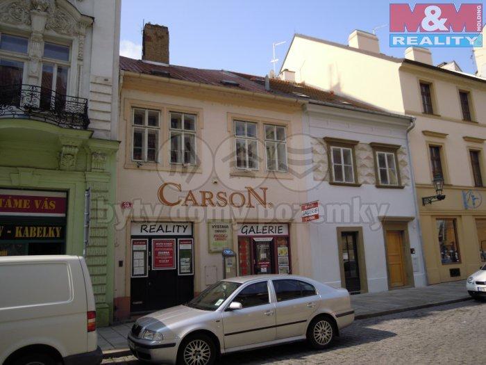 Prodej, nájemní dům, 305 m2, Plzeň, ul. Bezručova