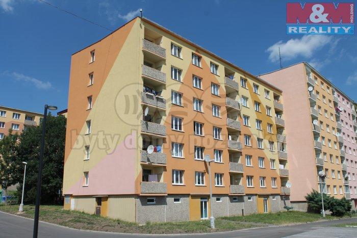 Pronájem, byt 2+1, 52 m2, OV, Chomutov, ul. Skalková