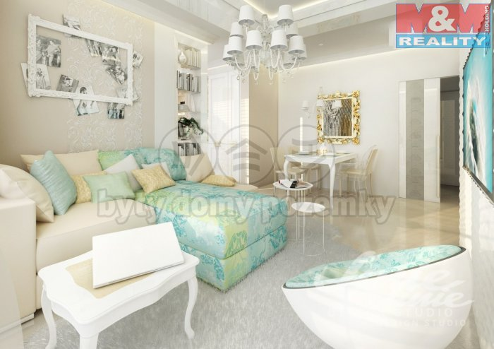 Prodej, byt 3+kk, 90 m2, Praha 2 - Vinohrady