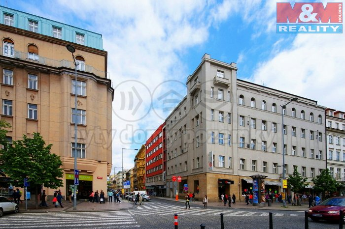 Pronájem, kanceláře, 34 m2, Praha 1 - Nové Město