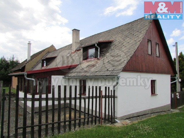Prodej, rodinný dům, 100 m2, Mladý Smolivec, Dožice