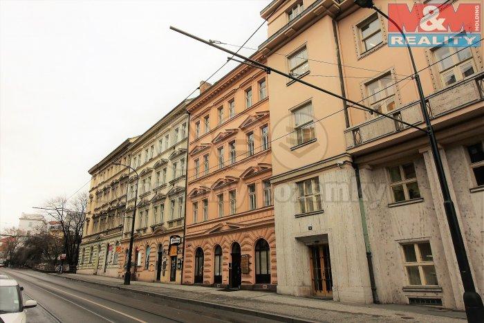 Pronájem, kancelář, 21 m2, Praha 2 - Nové Město