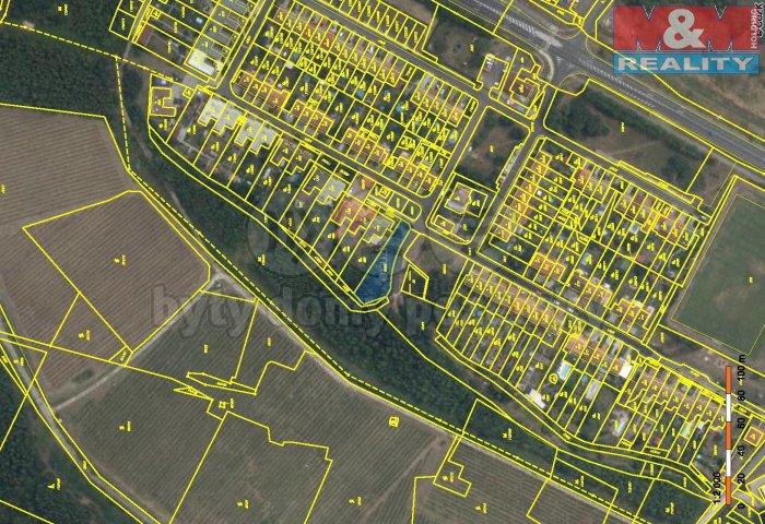 Prodej, stavební parcela, 1021 m2, Most - Čepirohy