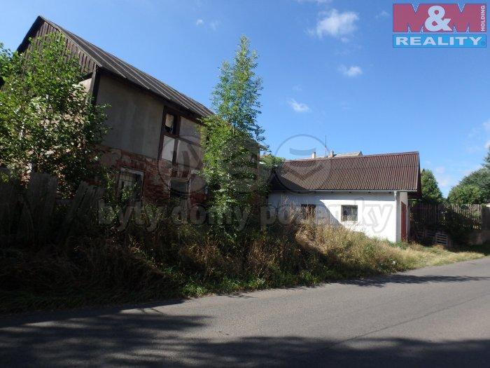 Prodej, stavební parcela, 4685 m2, Klášterec n/O, Rašovice