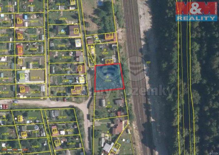Prodej, pozemek, 668 m2, Doubí u Karlových Varů
