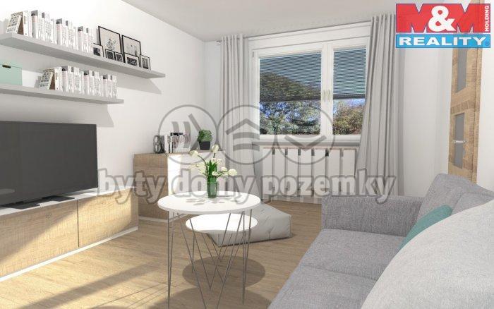Obývací pokoj - vizualizace
