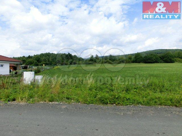 Prodej, pozemková parcela 1100 m2, Černovice u Chomutova