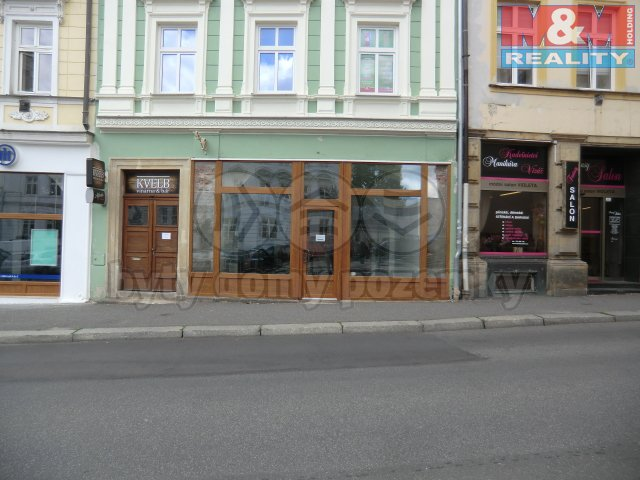 Pronájem, obchodní prostory, 109 m2, Liberec