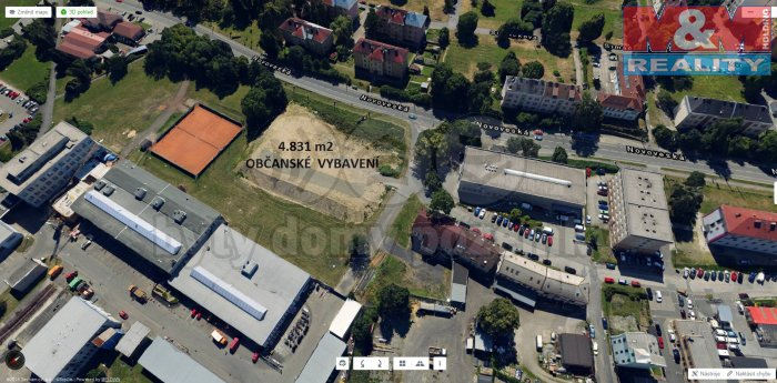 Prodej, pozemek, 4831 m2, Ostrava - Mariánské Hory