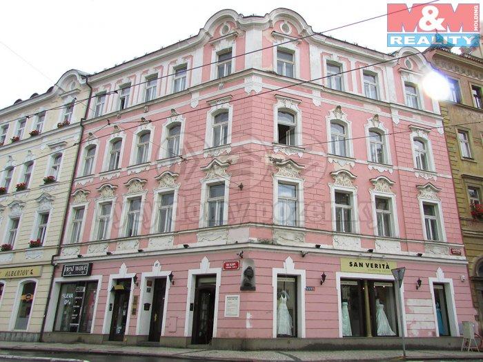 Pronájem, obchodní prostory, 144 m2, Praha 2 - Vinohrady