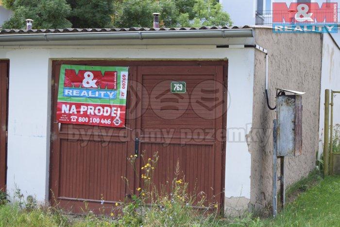 Prodej, garáž 20 m2, Louny