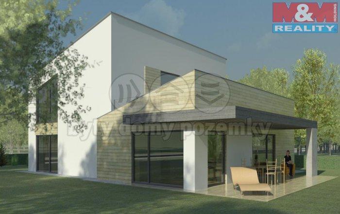 Prodej, projekt RD, 252 m2, Praha 4 - Újezd u Průhonic