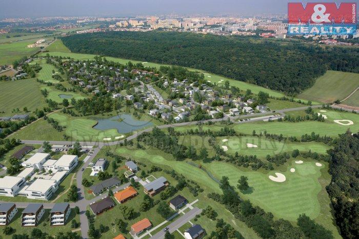 Prodej, stavební pozemek, 492 m2, Praha 4 - Újezd u Průhonic