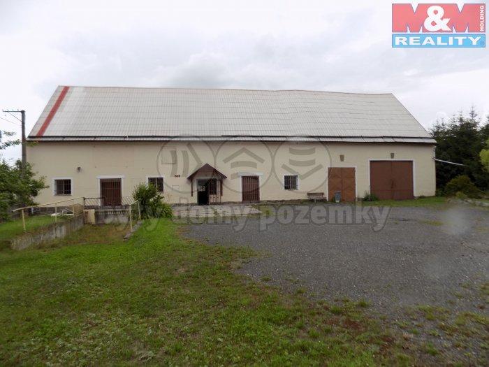 Prodej, výrobní hala 300m2, pozemek 2088m2, Jesenice