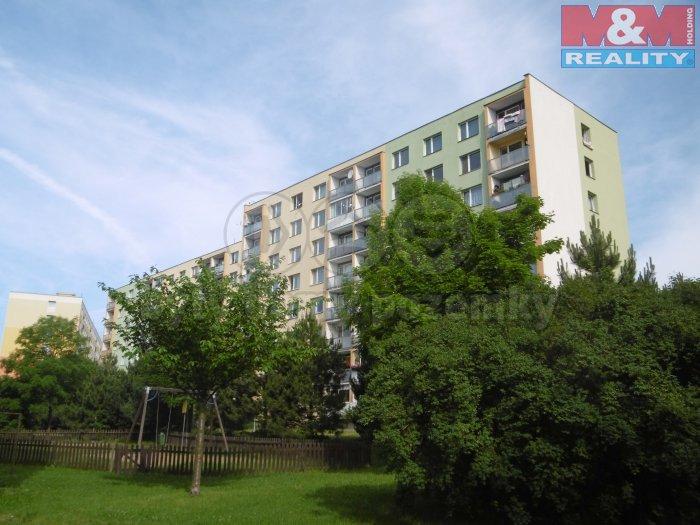 Pronájem, byt 1+1, 36 m2, OV, Chomutov, ul. Jirkovská